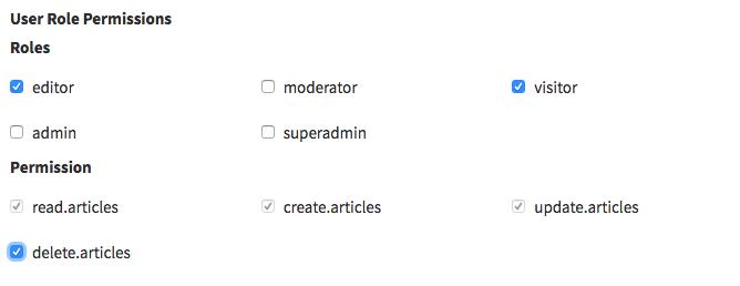 CRUD Field - checklist_dependency