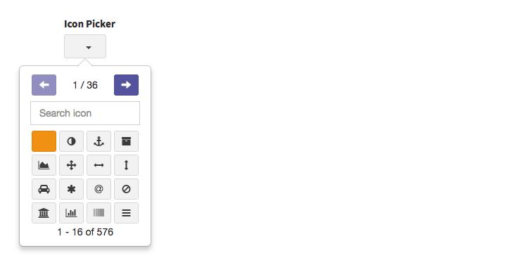CRUD Field - icon_picker