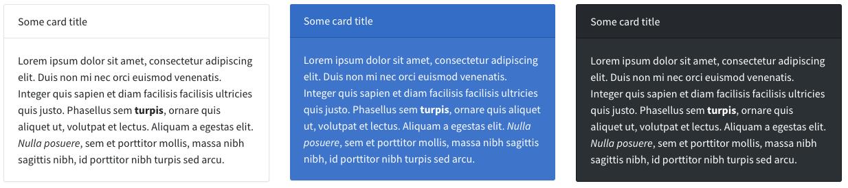 Backpack card widget